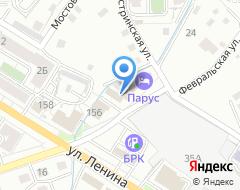 Компания Новопроточный на карте города