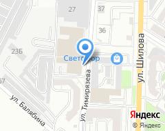 Компания АНЭКТ на карте города