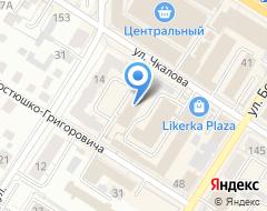 Компания Nevesta на карте города