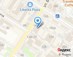 Компания Мустанг на карте города