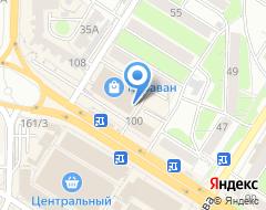 Компания Единый визовый центр на карте города