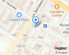 Компания Юничел на карте города