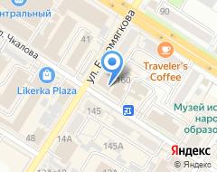 Компания Забайкальская недвижимость+ на карте города