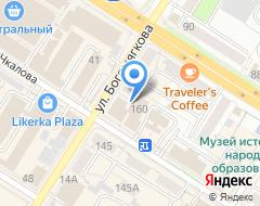 Компания Воин России на карте города
