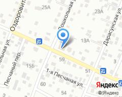 Компания 1000 мелочей на карте города