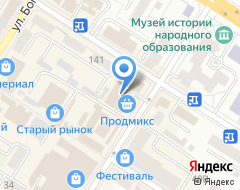 Компания Городской жилищный центр на карте города