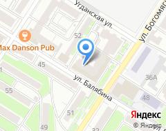 Компания УралТехЦентр на карте города