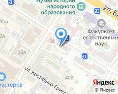 Компания РусФинанс банк на карте города