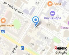 Компания Уездный ломбард на карте города