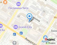 Компания Красная Дверь на карте города