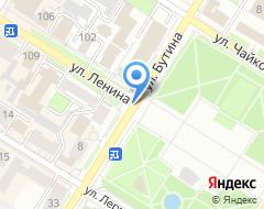 Компания БИЗНЕС-ПЛАН ТЭО на карте города