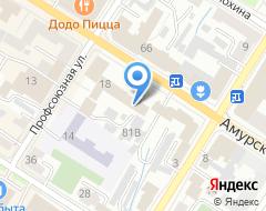 Компания Континент на карте города