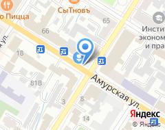 Компания КонтактИнвест на карте города
