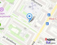 Компания Забайкальский региональный центр независимой оценки и услуг на карте города