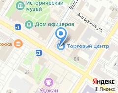 Компания Донелла на карте города