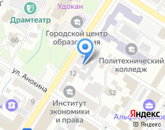 Компания Агентство недвижимости №1 на карте города