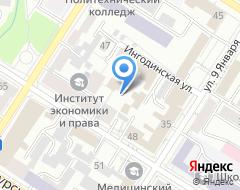 Компания Велита Траст на карте города