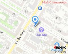Компания Гринда Байкал на карте города