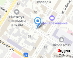 Компания Империал на карте города