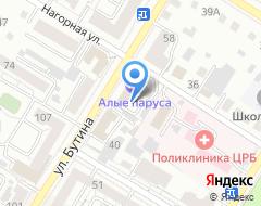 Компания МЭРИ на карте города