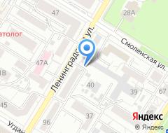 Компания Росвоенипотека на карте города
