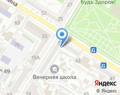 Компания Российская обувь на карте города