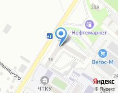 Компания АвтоСнабЦентр на карте города