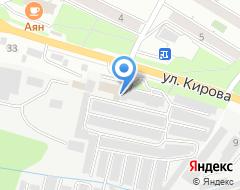 Компания Мир шин на карте города