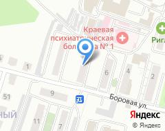 Компания РЭКС на карте города