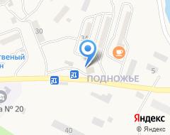 Компания Продуктовый магазин на карте города