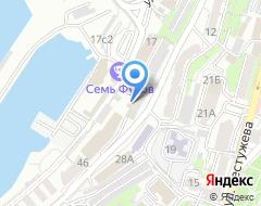 Компания ДВЭУК на карте города