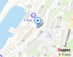 Компания Дальневосточная энергетическая управляющая компания на карте города