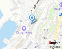 Компания Владивосток Бот Шоу на карте города