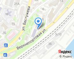 Компания Моор Стивенс Владивосток на карте города