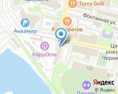 Компания Стрекоза на карте города