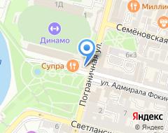 Компания ТехноСтайл на карте города