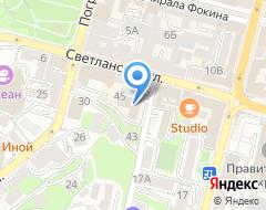 Компания Иствэй ДВ на карте города