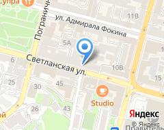 Компания Дальневосточный банк Сбербанка России на карте города
