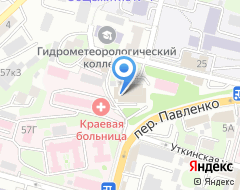 Компания Асклепия на карте города