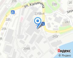 Компания Перевозчик на карте города