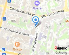 Компания ЖД-Юрист на карте города