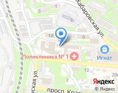 Компания Бизнес партнер ДВ на карте города