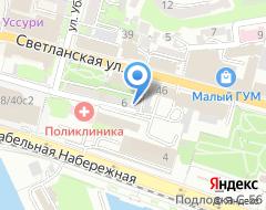 Компания Нотариус Медведева Е.П. на карте города