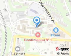 Компания Дальэкспоцентр на карте города