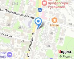 Компания Вокруг Света на карте города