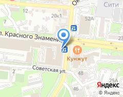 Компания ДВ Фрегат Аэро на карте города