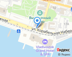 Компания Первое частное Приморское патентное агентство на карте города