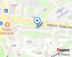 Компания ТОП ТУР на карте города