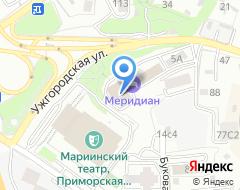 Компания Атриум на карте города