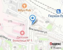 Компания АвтоВектор на карте города